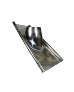 "6"" 25° - 45° Roof Flashing (Lead Based)"