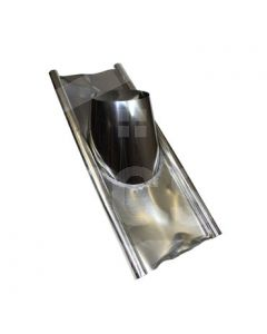 "6"" 5° - 25° Roof Flashing (Lead Based)"
