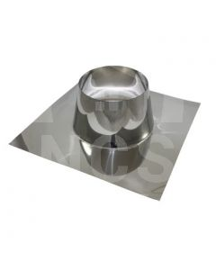 "6"" Flat Roof Flashing (Steel Based)"